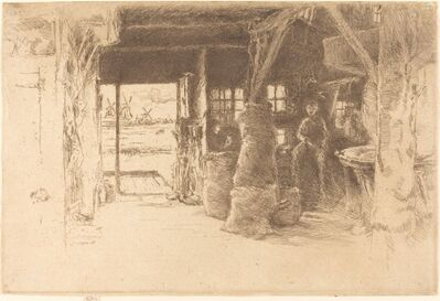 James Abbott McNeill Whistler, 'The Mill', 1889