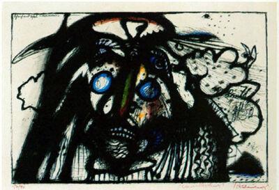 Arnulf Rainer, 'Scheich und Schal - Nosferatu (Wahnhall XX)', 1967