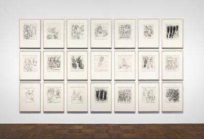 "Georg Baselitz, '""Untitled (Lettre International)""', 1989"