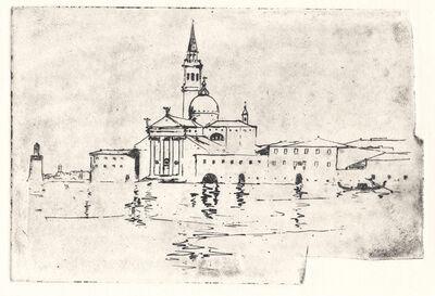 Arthur Streeton, 'Study – Basilico San Giorgio Maggiore, Venice', ca. 1910
