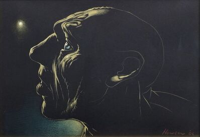 Peter Howson, 'Man in Profile', 2006