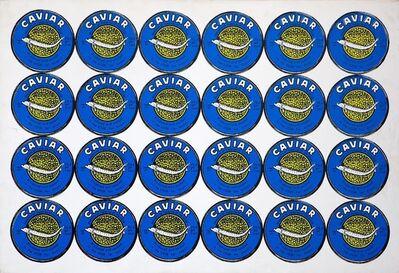 Alexander Kosolapov, 'Caviar (Blue)', 1989