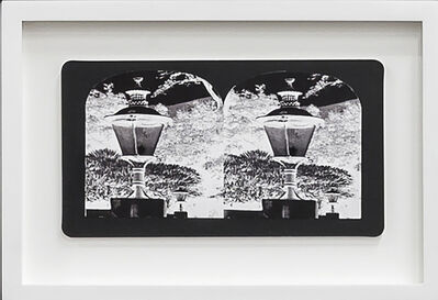 Penelope Stewart, 'Ruin Gazing Vol 1, paradise gardens - No: 008 - Lanterns at Lotusland, framed stereoscopic cards created by artist', 2015