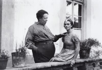 Warren J. Vinton, 'Diego And Frida On the Terrace', 1930