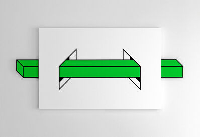 Aakash Nihalani, 'Passage (Green)', 2014