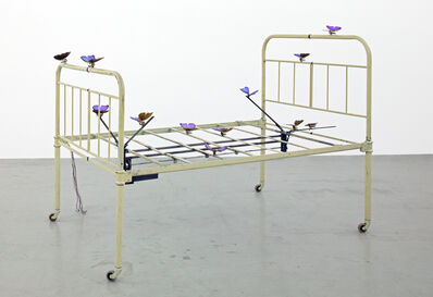 Rebecca Horn, 'The Lover´s Bed', 1990