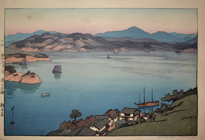 Yoshida Hiroshi, 'A Calm Day', 1930