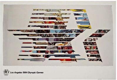 Robert Rauschenberg, 'Los Angeles 1984 Olympic Games (with Olympic Committee COA)', 1982