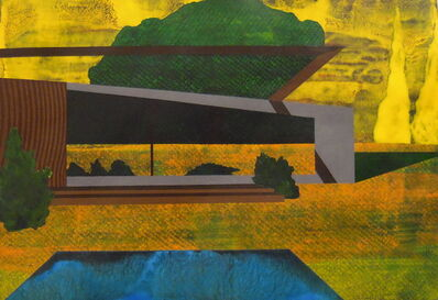 James Isherwood, 'From the Poolhouse', 2012