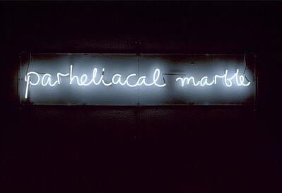 Ian Hamilton Finlay, 'Parheliacal Marble', 1992