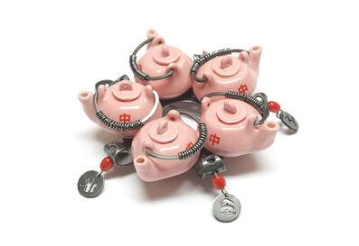 Peter Hoogeboom, 'Pink Teapots', 2009