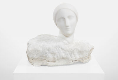 Elie Nadelman, 'Head of a Woman (Emerging from Stone)', ca. 1915-1920
