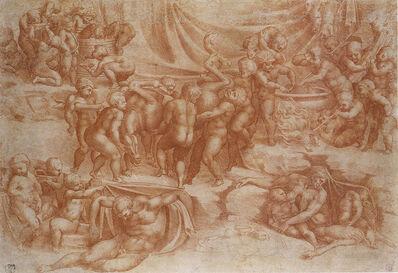 Giulio Clovio, 'A Bacchanal of Children', 1545-1550