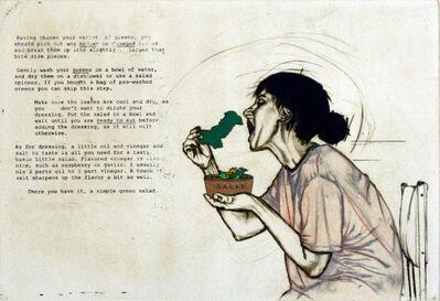 Sophiya Khwaja, 'Lettuce Eat Away', 2011