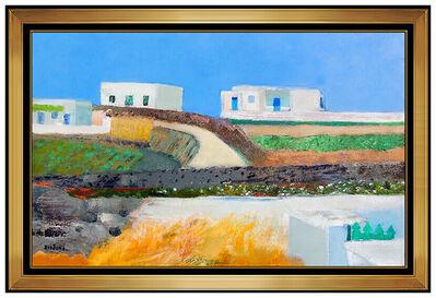 Guy Bardone, 'Guy Bardone Original Oil Painting On Canvas Signed France Countryside Framed Art', 20th Century