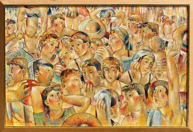 Jessica Rice, 'Faces', 1988