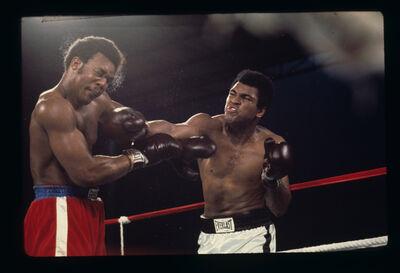 Ken Regan, 'Ali v Foreman, Kinshassa, Zaire', 1974