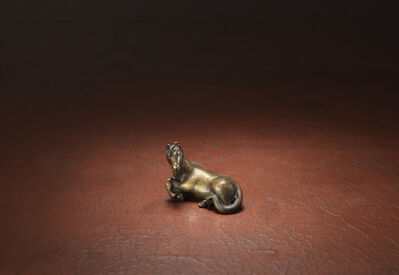 Unknown Artist, 'A bronze weight modelled as a recumbent horse', Ming dynasty-17th century