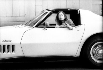 Julian Wasser, 'Joan Didion in Stingray 1968', 1968