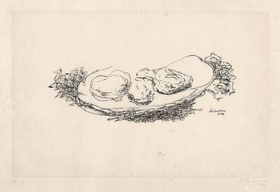 Georges Braque, 'Les Huîtres (Vallier 85)'