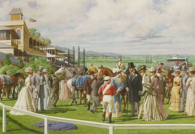 Edward Mortelmans, 'DAY AT THE RACES'