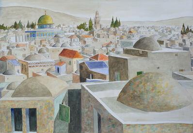 Sliman Mansour, 'Jerusalem', 2018