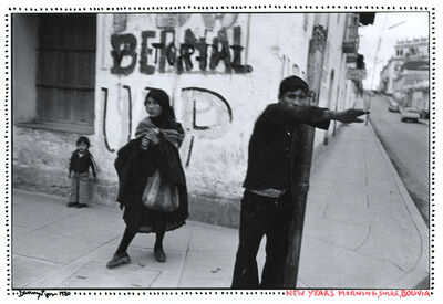 Danny Lyon, 'New Year's Morning, Sucre, Bolivia', 1980