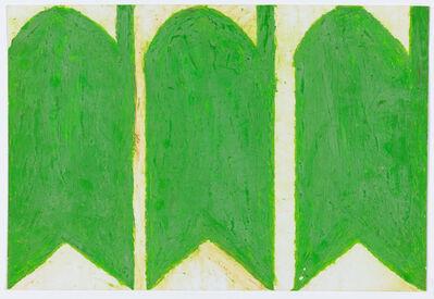 Evelyn Reyes, 'Carrots, Green (Same Direction)', 2004-2009