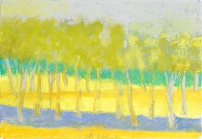 Wolf Kahn, 'Yellow Predominates', 2014