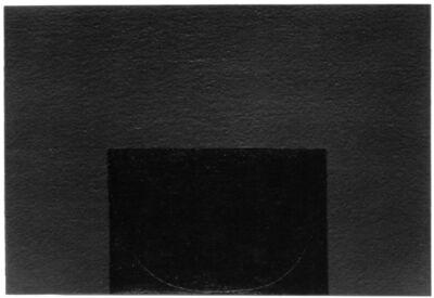Alberto Burri, 'Mixoblack 2', 1990