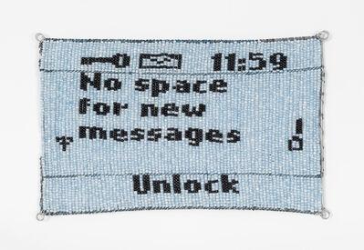 Dan Halter, 'Untitled (Please Call Me)', 2018