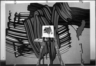 Ugo Mulas, 'Roy Lichtenstein Studio, New York', 1964