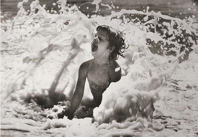 Alfred Eisenstaedt, 'Girl in Surf, Jones Beach, NY', 1951/1985c