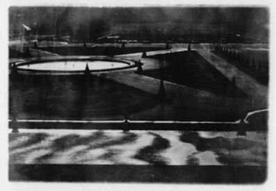 "Deborah Turbeville, 'The Parterre du Midi at Versailles, from ""Unseen Versailles""', 1980"
