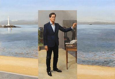 Tom Alberts, 'St Kilda Beach and Studio', 2017