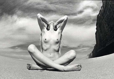 James Fee, 'Seated Female Nude on Beach', 1970s