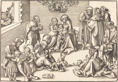Lucas Cranach the Elder, 'The Holy Kinship'