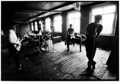 Kevin Cummins, '1.Joy Division, TJ Davidson's rehearsal room, Little Peter Street, Manchester, 19 August 1979', 2006