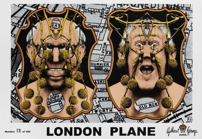 Gilbert and George, 'London Plane', 2006