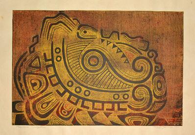 Toshi Yoshida, 'Mexican Sculpture ', 1956