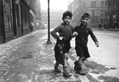 Bert Hardy, 'The Gorbals Boys, Glasgow', 1948 (printed later)
