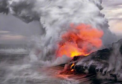 Peter Lik, 'Pele's Whisper'
