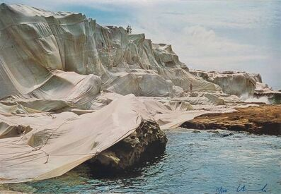 Christo and Jeanne-Claude, 'Wrapped Coast, Little Bay, Australia', 1969