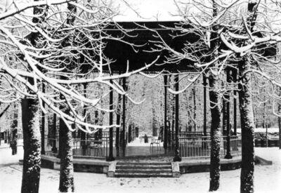 Edouard Boubat, 'Kiosque a Musique, Paris', 1969