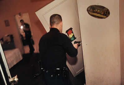 Joseph Rodriguez, 'Officers search the apartment of the man shot in his living room, LAPD 1994', 1994