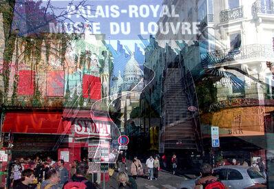 Davide Bramante, 'My own Rave. Parigi (Palais Royal Musèe du Louvre)'