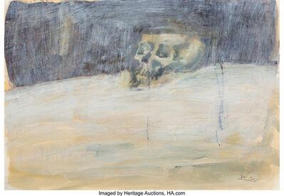 Kent Williams, 'Skull in a landscape', 2002