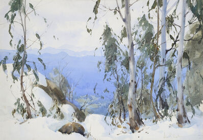 John Loxton, 'Grey day Mount Buffalo', 1940