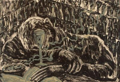 Miquel Barceló, 'Hombre Borracho En Un Bar 1', 1983