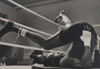 Gerry Cranham, 'Joe Brown (USA) training for world title fight in London, 1961'